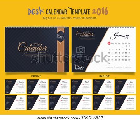 Free Desktop Calendar 2018 Template Illustration Download Free