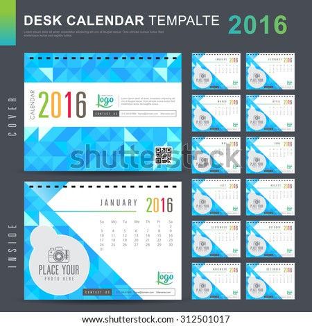 New Table Calendar Design Templates Free Download