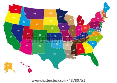 stock-vector-detail-color-map-of-usa-with-name-of-states-48780751.jpg