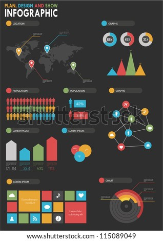 detail infographic vector illustration