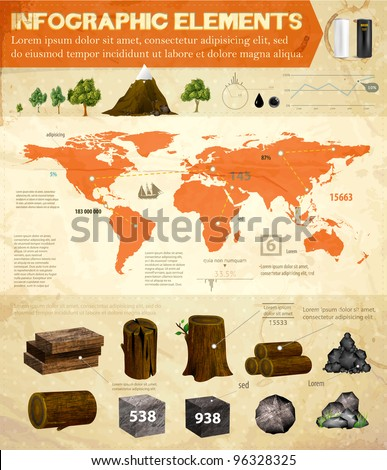 detail infographic vector set