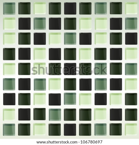 Detail of pattern tiles texture. Vector design.