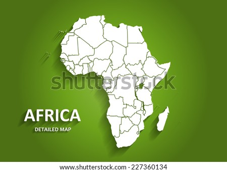 Map Vector Of Africa - Africa map