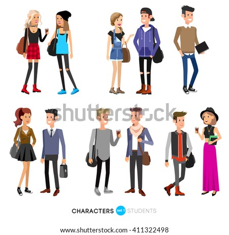 detailed character students