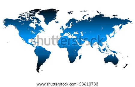 Detailed, high quality vector map of the World.