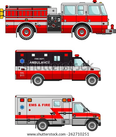 detailed illustration of fire...