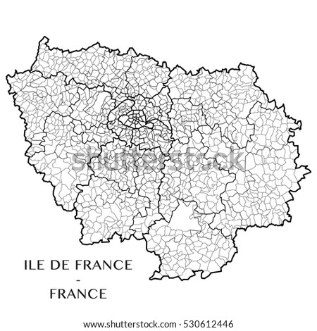 detailed map of the region of