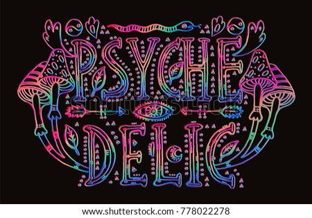 detailed ornamental psychedelic