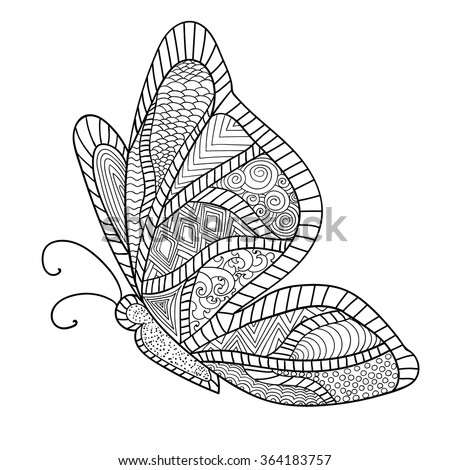 detailed ornamental sketch of a