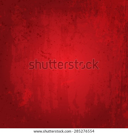Detailed red grunge background