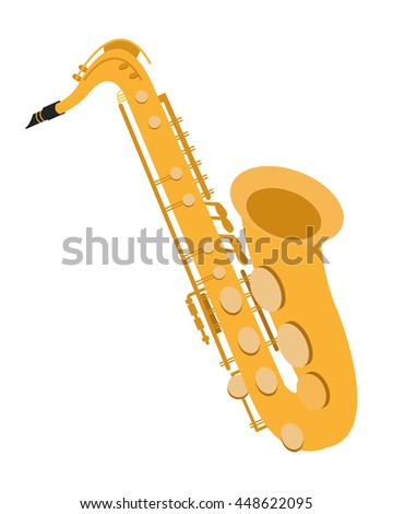 detailed saxophone icon