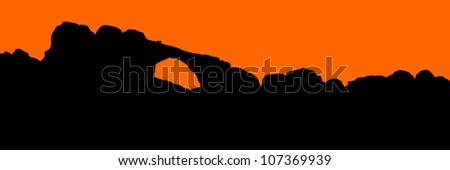 detailed silhouette outline of