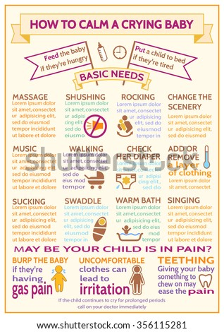 Infographic Ideas easy infographic template : Detailed Vector Baby Child Infographic. Presentation Template How ...
