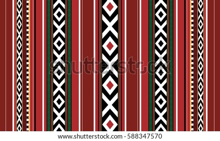 Detailed Vertical Motif Traditional Handmade Sadu Rug