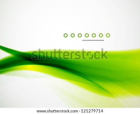 Detailed wave abstract background template. Vector ilustration - Shutterstock ID 121279714