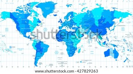 Free Time Zone Map Vector - Download Free Vector Art, Stock Graphics ...