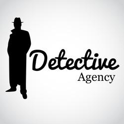 Detective Agency. Vector illustration.