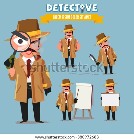 detective character set