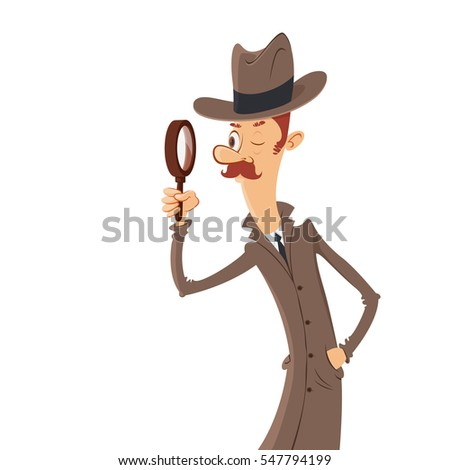 detective looking through