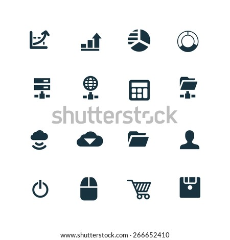 development Icons Vector set #266652410