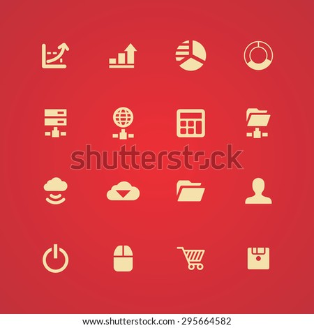 development, soft icons universal set for web and mobile #295664582