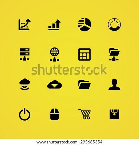 development, soft icons universal set for web and mobile #295685354