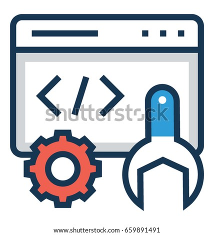 Development Vector Icon