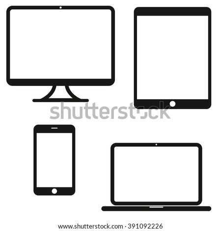 device icons  smartphone