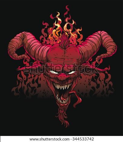 devil head  devil  satan