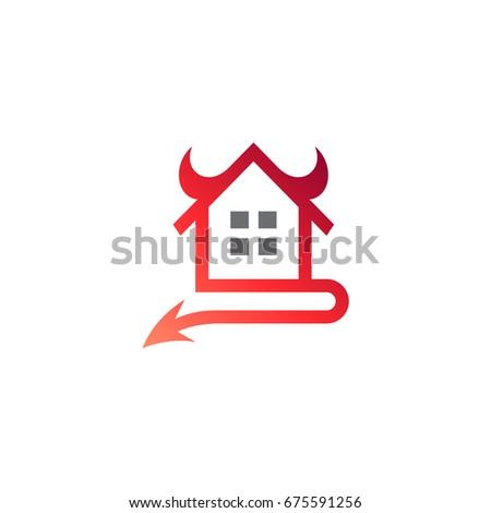devil house logo