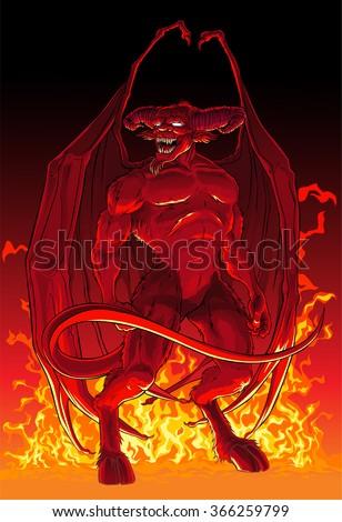 devil in fire