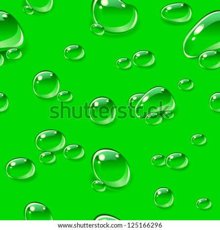 dew drops seamless pattern