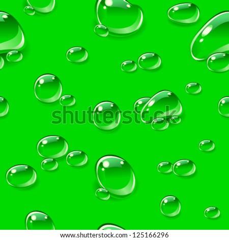 dew drops seamless pattern