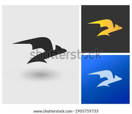 DI DL D initial based Logo Design in Gradient Colors Creative Modern sporty shoe company logo Luxury Dragon Shape with Letters Vector Icon Logo idea Illustration Foto d'archivio ©