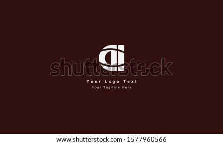 DI or ID letter logo. Unique attractive creative modern initial DI ID D I initial based letter icon logo Foto d'archivio ©