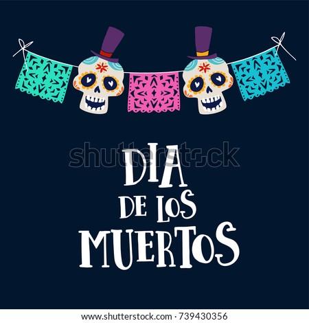 dia de los muertos greeting
