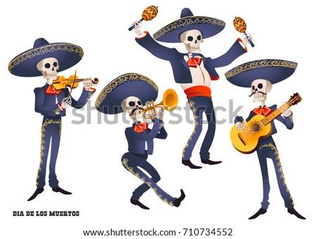 dia de muertos mariachi band