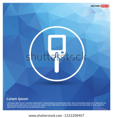 Diabetes Glucometer Icons - Free vector icon