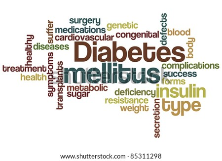 Diabetes mellitus Word Cloud