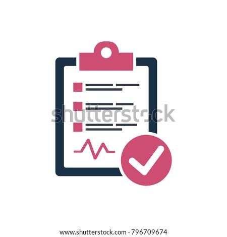 Diagnostic Report Icon
