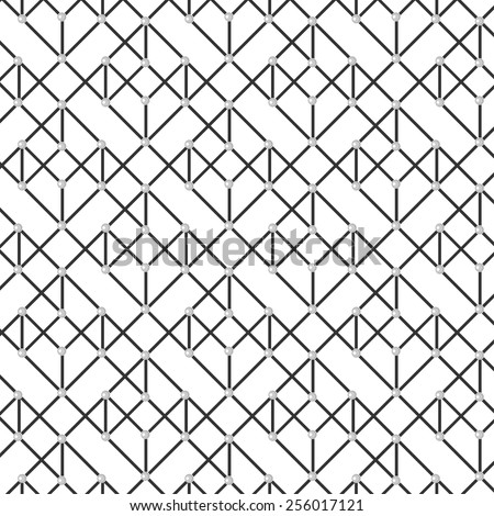 Diagonal geometric background. Black&White.