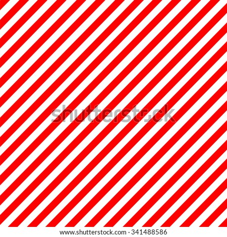 Diagonal stripe red-white pattern vector