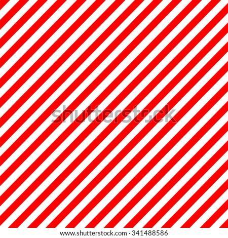 diagonal stripe red white