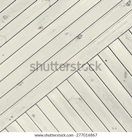 diagonal white wooden planks