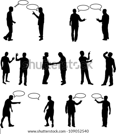 Dialog People vectors work
