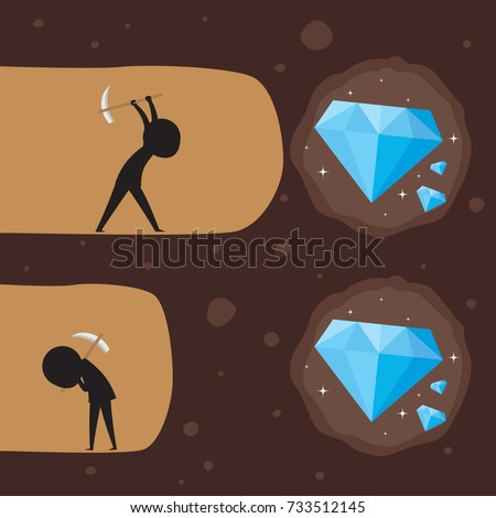diamond digging with someone