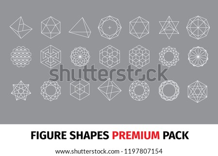 Diamond figure shapes