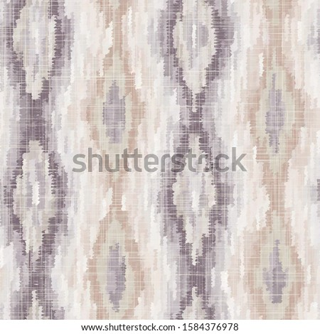 Diamond Geo Watercolor Wash Contemporary Painting with Paper Texture. Seamless Repeat Vector Pattern Swatch Tile.