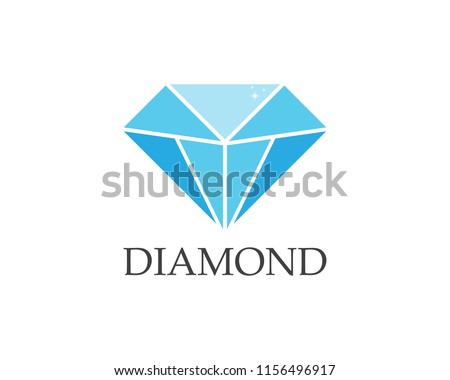 Diamond logo vector template