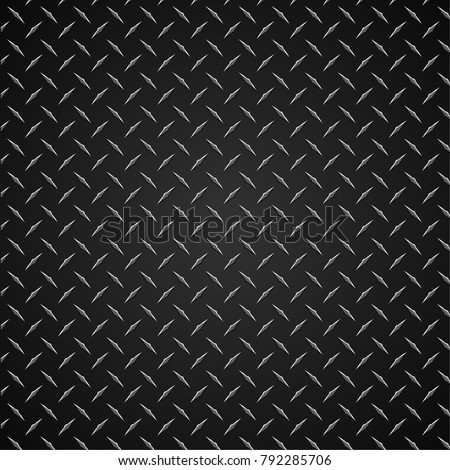 Diamond Plate Realistic Vector Graphic Illustration